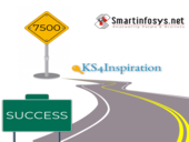Reaching Landmark of the 7500th LIVE website with Ks4inspiration-SmartInfosys